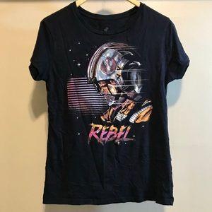 Rebel Star Wars 80s Style Neon Tee Size XXL